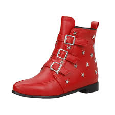 s boots 30 s rivet pointed toe buckle boots agathagarcia com