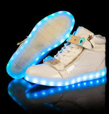 led light up shoes for adults women men led light up shoes luminous metal mixed trainer high top
