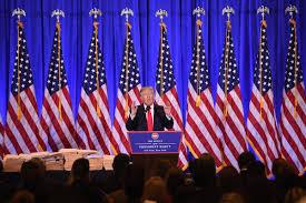 Boy Scout Flag Raising Ceremony Script Donald Trump Conflicts Of Interest Concern Not Unprecedented Time