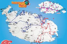 Malta World Map Hop On Hop Off Bus Tour Malta City Sightseeing