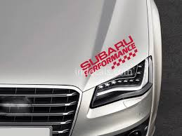 subaru window decals 1 x subaru sticker for windshield or back window red indecals com