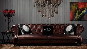 Chesterfield Sofa Leather by Black Leather Sofa Design Ideas Tufted Leather Chesterfield Sofa