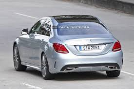 mercedes c klasse 2015 2015 mercedes c class sedan exposed without any camouflage