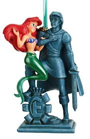 disney store ariel and prince eric statue sketchbook