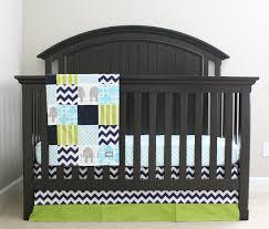 Custom Boy Crib Bedding Custom Crib Bedding Navy Blue Lime Green Aqua By Gigglesixbaby