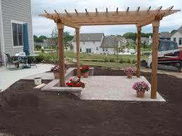 grading landscaping paver patios retaining walls and yard