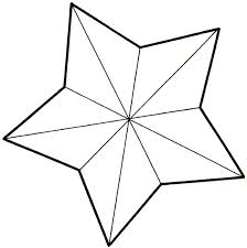 star stencil free star stencil to print and cut out clip art