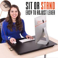 x elite one level series sit stand desks stand steady