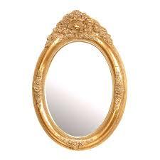 Gold Vanity Mirror Oval Mirrors Bellacor Outstanding Vanity Mirror Birdcages