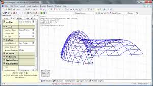 analyze this creating geometry for structural analysis in