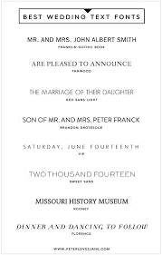 wedding invitations font wedding invitation templates best fonts for wedding invitations