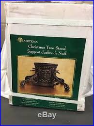 traditions cast iron tree stand ornate 7 trunk capacity