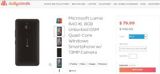 amazon best cell phone deals gsm black friday unlocked deal unlocked microsoft lumia 640 xl available for only 79