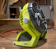 ryobi fan and battery ryobi 18v one fan review