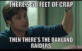 Broncos Raiders Meme - one thing broncos fans can all agree on is that the raiders suck