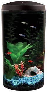 amazon com api aquaview 360 aquarium kit with led lighting and