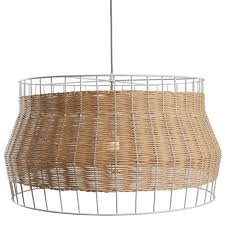 Wicker Pendant Light Laika Large Pendant Light Rattan Pendant Light Dot