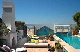 Small Spanish Style Homes Color Schemes For Stucco And Stone Combination Mediterranean House