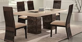marble dining room sets awesome dining room tables gallery house design interior