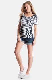 maternal america split sleeve maternity dress available at