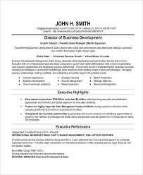 Business Development Resumes 22 Business Resume Templates Free Word Pdf Documents Download