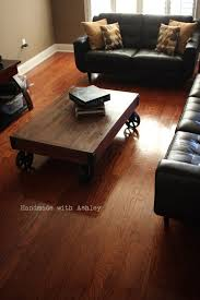 Industrial Cart Coffee Table Project Pick Diy Factory Cart Coffee Table