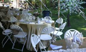 table and chair rentals island tables chairs mid island party rental inc