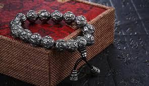 sterling bead bracelet images 925 sterling silver buddha beads bracelet empire of the gods jpg