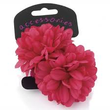 flower hair bands flower hair bands fuchsia 2 pack totesu