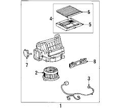 lexus gs300 parts diagram parts com lexus parts cooling unit partnumber 8889950110