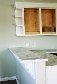 cabinet ends ideas open shelf end wall cabinet white