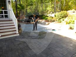 Best Sealer For Stamped Concrete Patio by Decorative Concrete Sealer Fixes Ghostshield