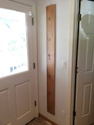 baseboard height artisanal cnc carved growth chart