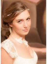 bijoux tete mariage bijou de tête ou headband mariée avec perles nacrées et perles de