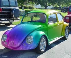 vw beetle so cute very nice paint job fits the cars style vw