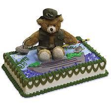 fish cake toppers cake kits