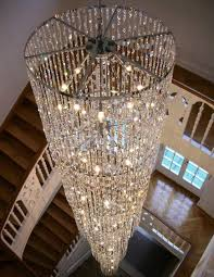 Glamorous Chandeliers 12 Brilliant Staircase Chandelier For Glamorous House Top