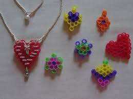 how to make a heart necklace with recycled drinking straws no
