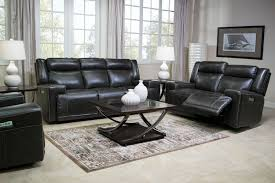 Powered Reclining Sofa Rancor Leather Power Reclining Sofa Mor Furniture For Less