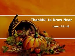 a special thanksgiving message ppt