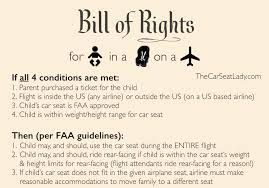 You Absolutely Should Not Be Like Bill The Smarmy Stick - the car seat lady before you fly know your rights