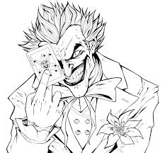 joker coloring pages printable image sense coloring pages