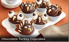 chocolate turkey cupcakes recipe thanksgiving holidaytips safeway