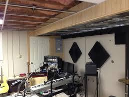 Soundproof Basement Ceiling by Basement Ceiling Ideas Cheap Home Design Ideas