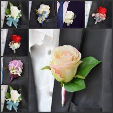 Wedding Boutonniere Artificial Wedding Boutonnieres Online Wholesale Wedding