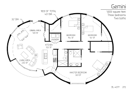 floor plan dl 4017 monolithic dome institute house plans