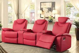 Triple Recliner Sofa by Most Comfortable Couches Leather Reclining Sofas Most