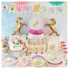 unicorn birthday party sparkle unicorn birthday party supplies collection target