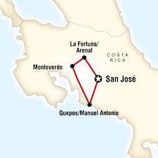 san jose costa rica on map costa rica quest in costa rica central america g adventures