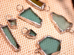 How To Make Jewelry From Sea Glass - woyww unstuck beads and soldering savvy glass learning and craft